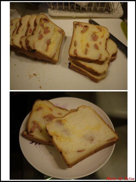 葡萄乾奶酥雙色吐司&熱狗起司片吐司(冷藏中種,26兩)14.jpg