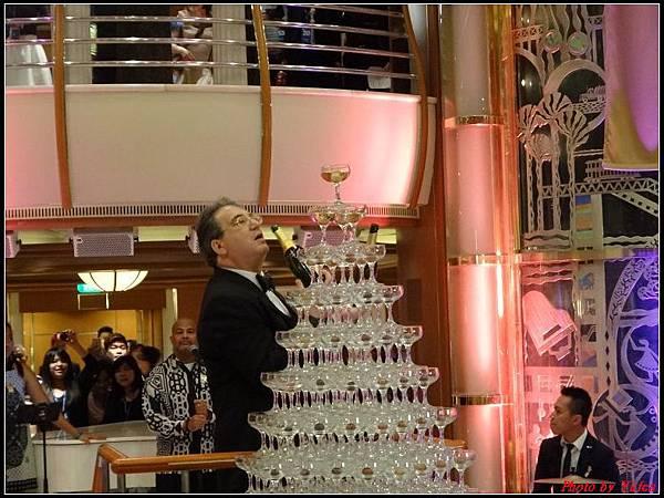 藍寶石公主郵輪day2雞尾酒晚會0033.jpg