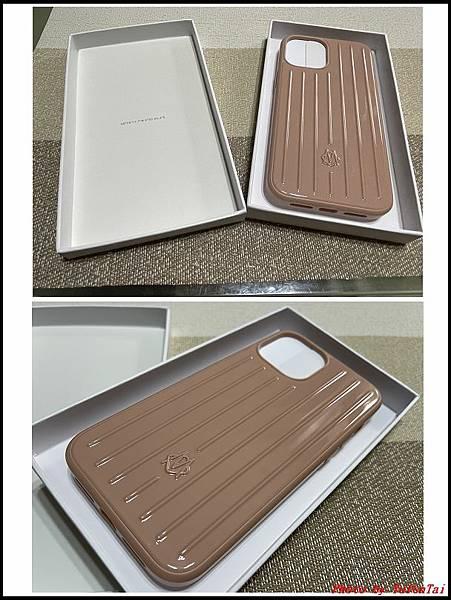 RIMOWA 沙漠玫瑰粉手機殼 iPhone12 Pro Max02.jpg