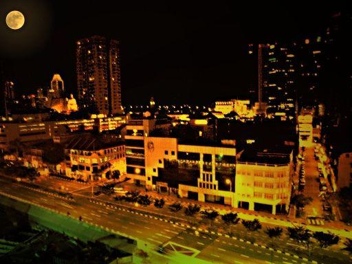 從新加坡坡飯店看出去