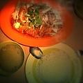 熱騰騰的海南雞飯