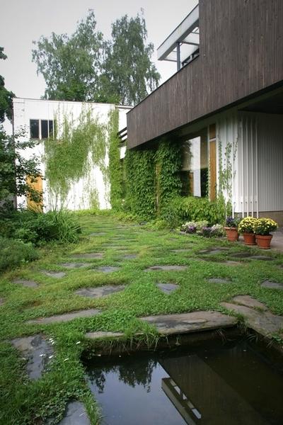 日式小花園