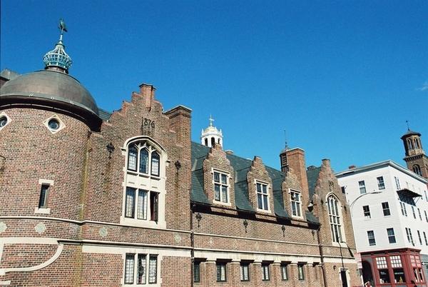 哈佛大學洋蔥頂的紅磚屋