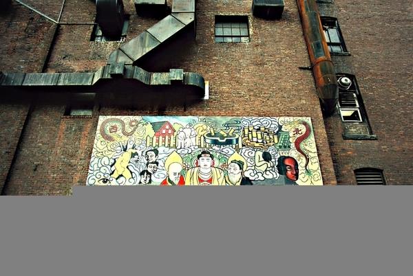 紐約唐人街的街頭藝術