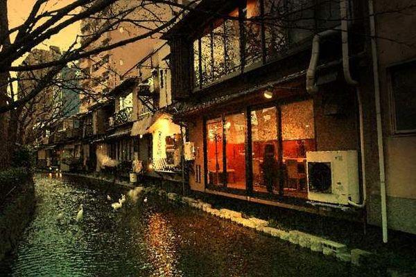 木屋町通旁的高瀨川