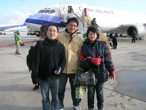 踏上北海道的土地