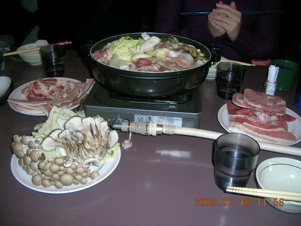 尼克斯水族館午餐-壽喜燒吃到飽