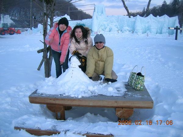 錯過冰瀑祭的支芴湖= =