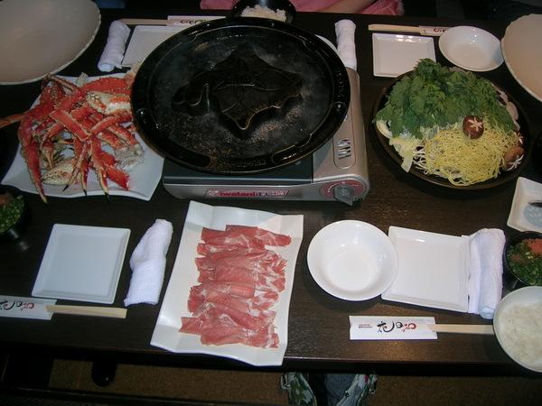 帝王蟹晚餐