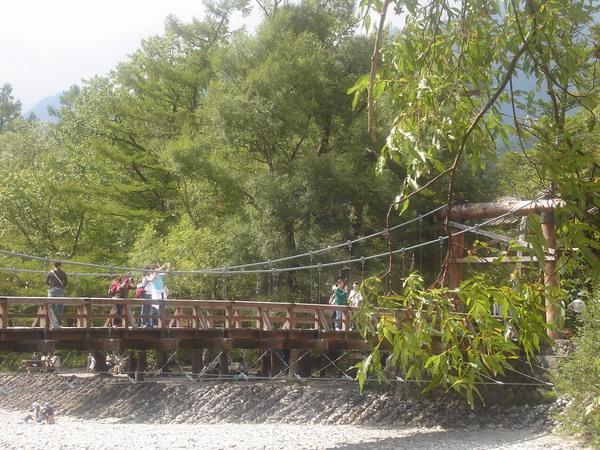 上高地-河童橋