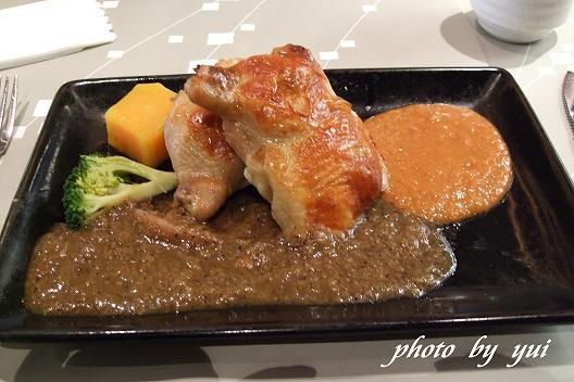 主餐:陶板雞
