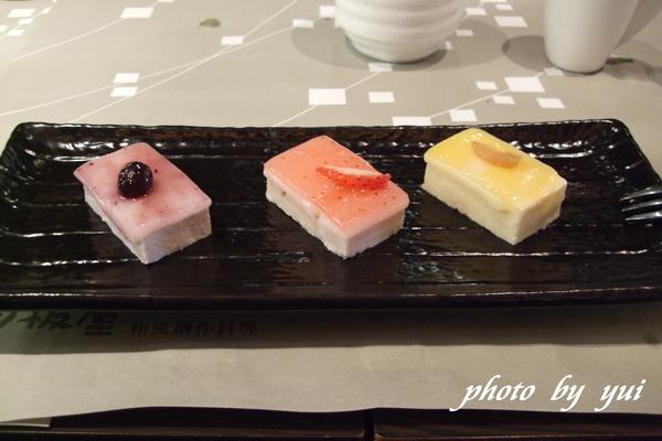 甜點:日式三味麻糬