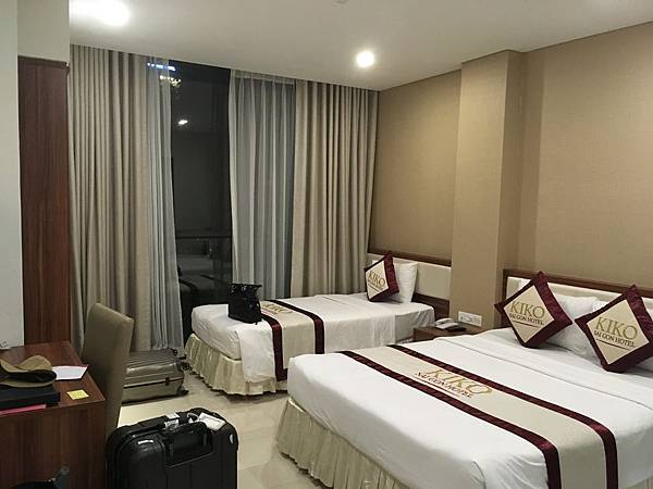 越南飯店推薦Saigon KIKO Hotel三人房