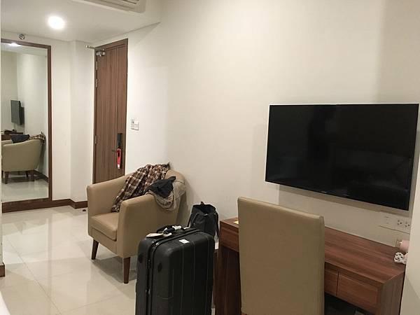 胡志明飯店Saigon KIKO Hotel房間