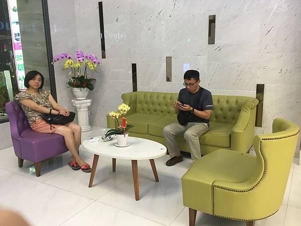 越南Saigon KIKO Hotel大廳座位