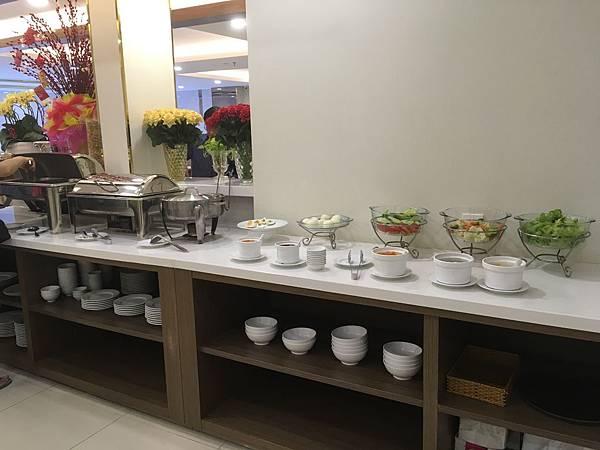 范五老街飯店推薦Saigon KIKO Hotel早餐