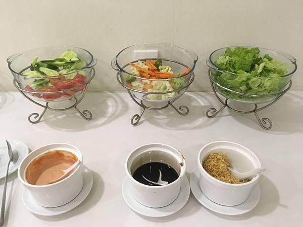 范五老街飯店Saigon KIKO Hotel早餐沙拉
