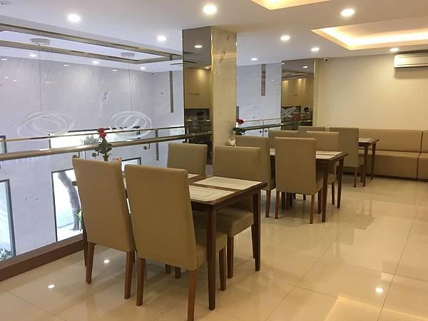 范五老街飯店Saigon KIKO Hotel早餐座位