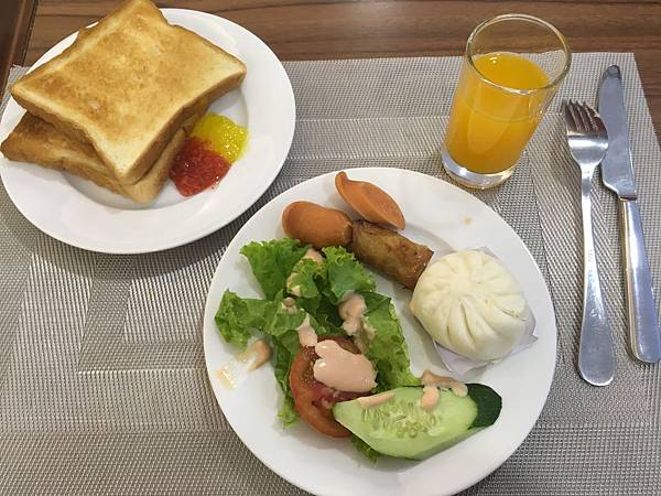 Saigon KIKO Hotel豐盛早餐