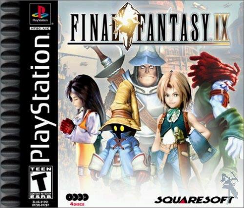 FF9_美版遊戲盒封面