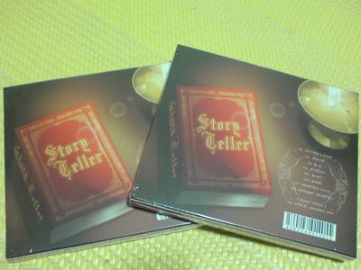 CD背面(含初回特典外盒)