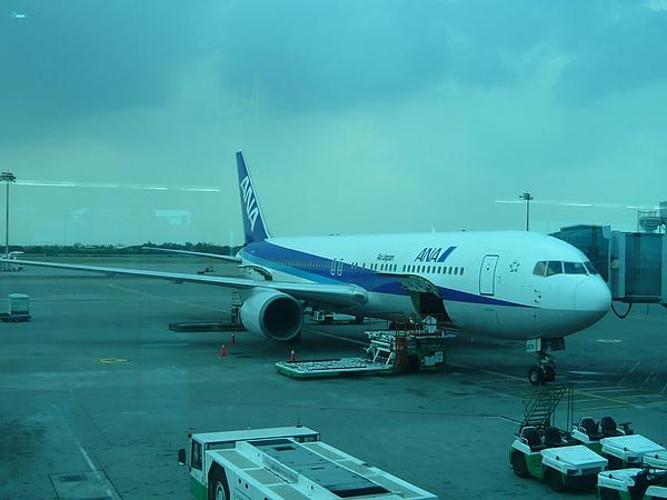 這次的ANA小飛機