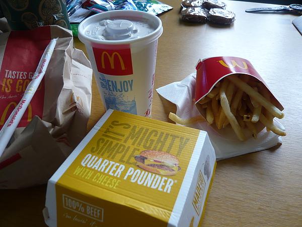 5.31 我的午餐~日本麥當勞薯條好好吃