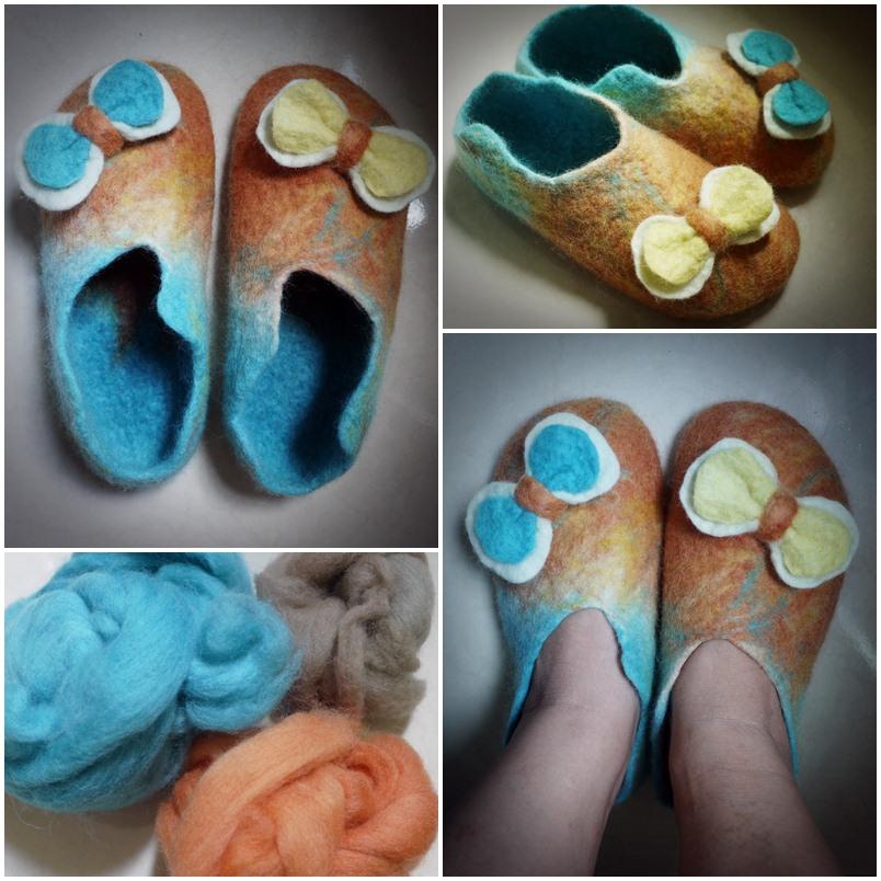 我的羊毛氈鞋.jpg