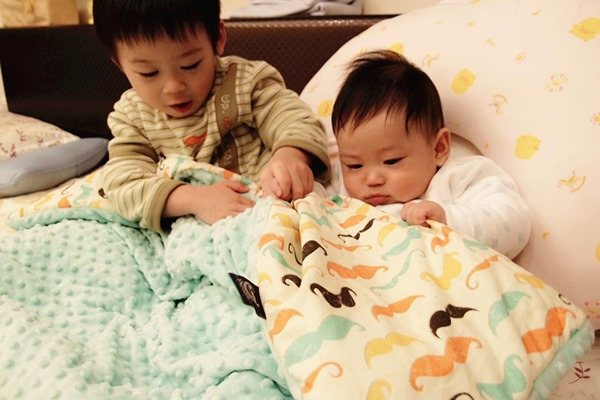暖膚豆豆毯