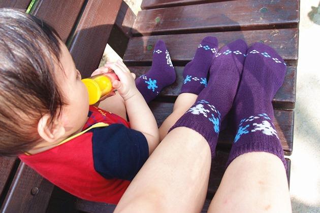 東客集 萊卡襪 童襪 親子襪 (10)