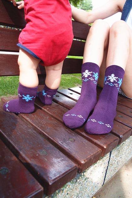 東客集 萊卡襪 童襪 親子襪 (8)