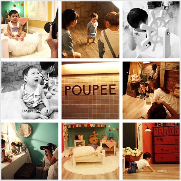 POUPEE噗比寶寶攝影, 兒童寫真, 全家福, 台北