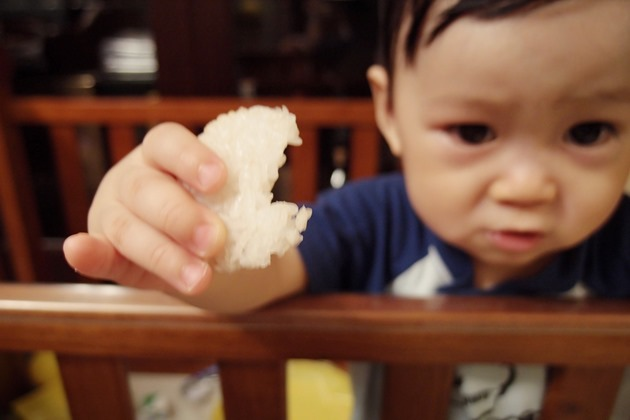 diy烤米餅 副食品