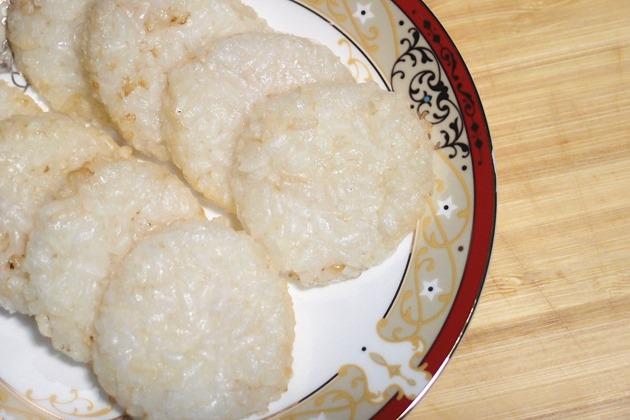 diy烤米饼副食品