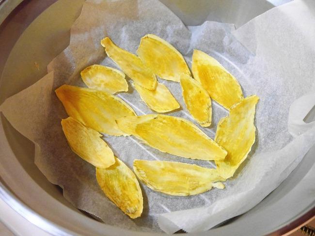 電鍋版零嘴-黃金地瓜薯片