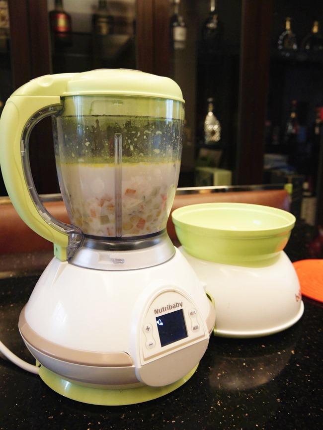 babymoov調理機 寶寶版玉米濃湯 食譜 副食品
