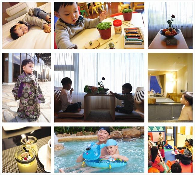 親子飯店推薦│宜蘭礁溪長榮鳳凰酒店│。一泊二食暖冬泡湯