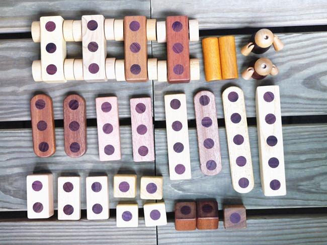 韓國Soopsori 蘇索力原粹木磁性積木。腦開發玩出創造力