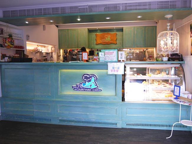 │宜蘭。冬山鄉│71度N庭園咖啡廳。夢幻Tiffany藍歐式洋房親子餐廳