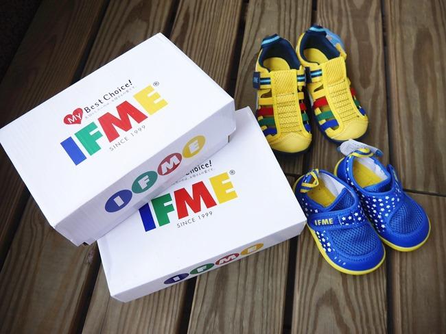 日本IFME健康機能童鞋 預防扁平足及拇指外翻的功能鞋 學步鞋