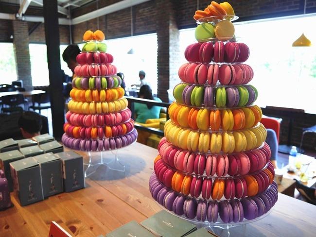 │雲林。斗六│菓風小舖巧克力工房。親子巧克力DIY體驗+小人沙坑