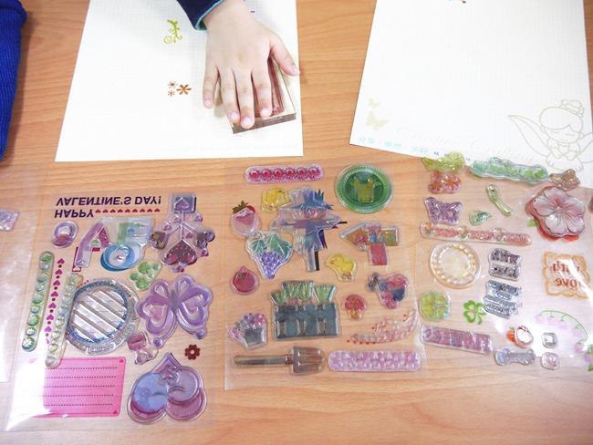 │宜蘭│莎貝莉娜文創體驗館。親子印畫創作水晶圖章DIY好好玩