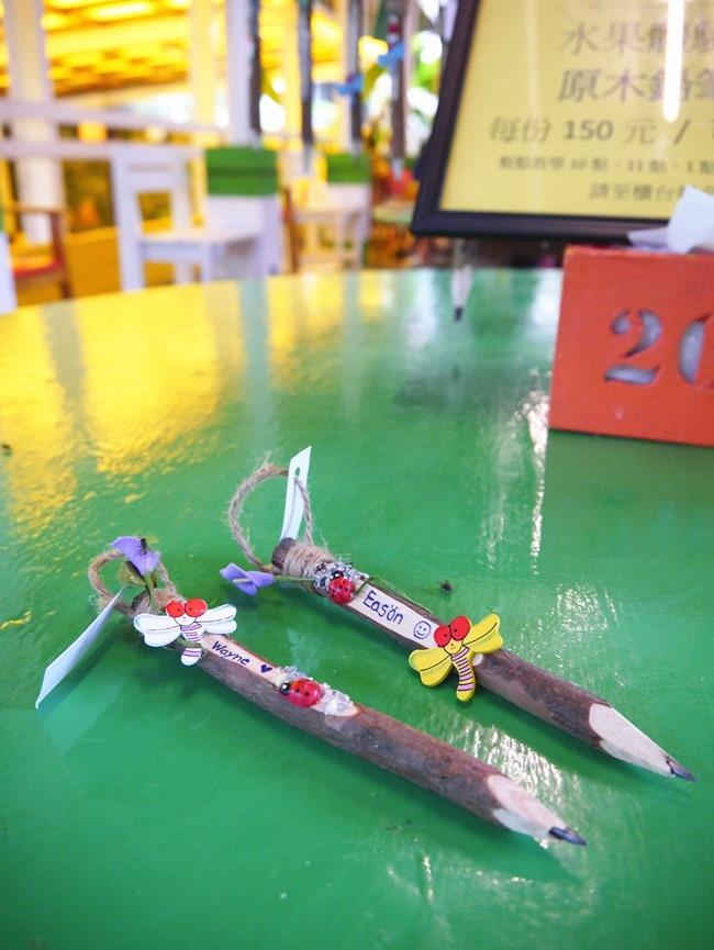 │宜蘭。冬山│幸福20號農場。窯烤pizza、樹枝簽筆、水果醋DIY童話親子樂