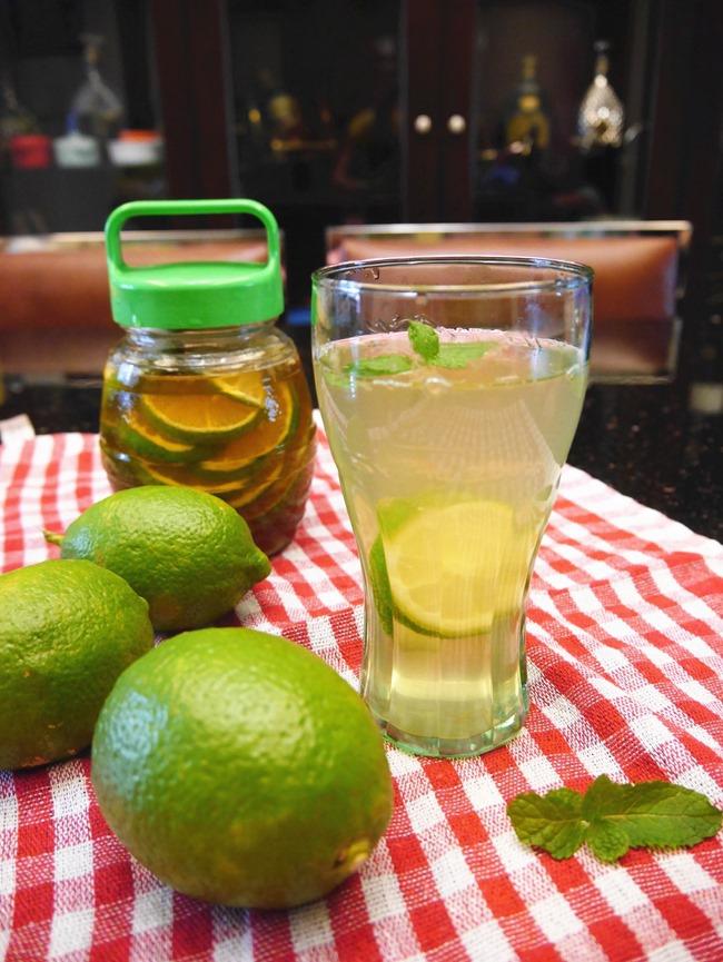 止咳化痰食療  蜂蜜檸檬水
