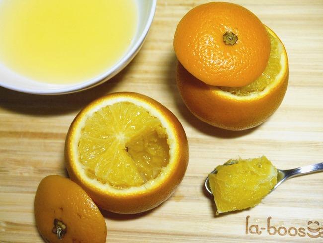 止咳化痰食療  蒸鹽橙