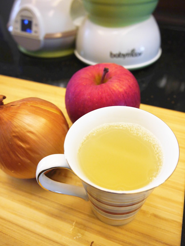 止咳化痰食療 蘋果洋葱水