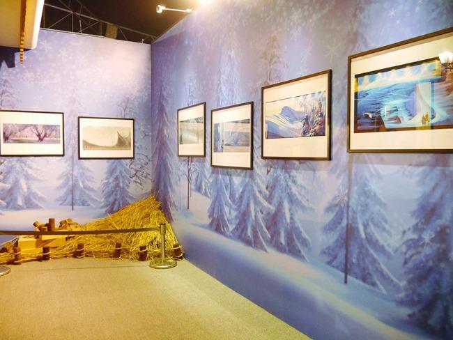 冰雪奇緣特展。走進艾莎女王冰雪王國零下8度C凍感鮮體驗