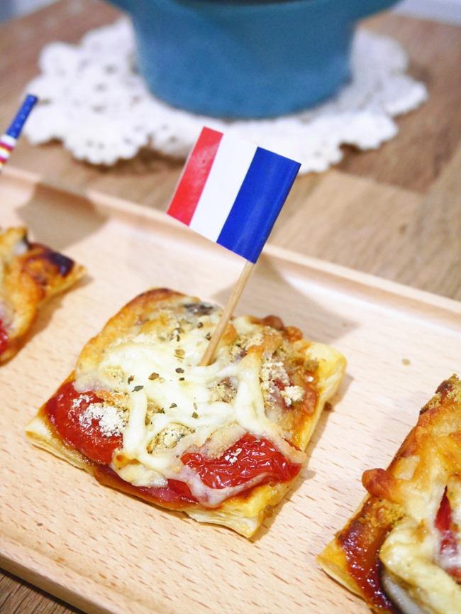 義式千層起酥pizza