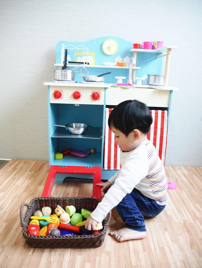 愛兒館ilovekids 型男小煮廚。男孩也能擁有「夢幻鄉村廚房」!
