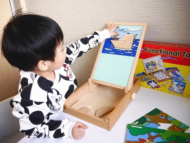 愛兒館「創意木匠」「智慧七巧板」積木益智玩具